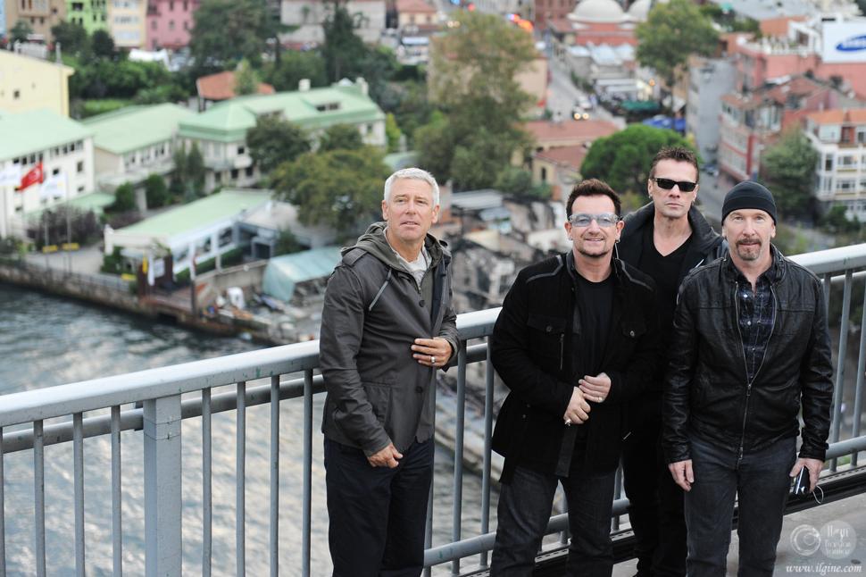 U2 İstanbulda