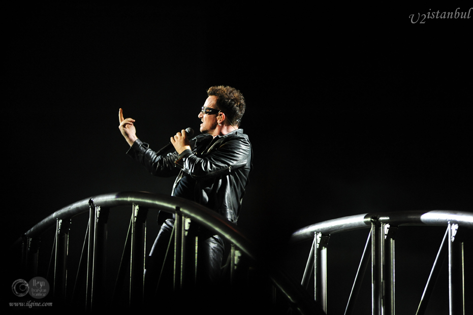 U2 İstanbul'da 360 Tour